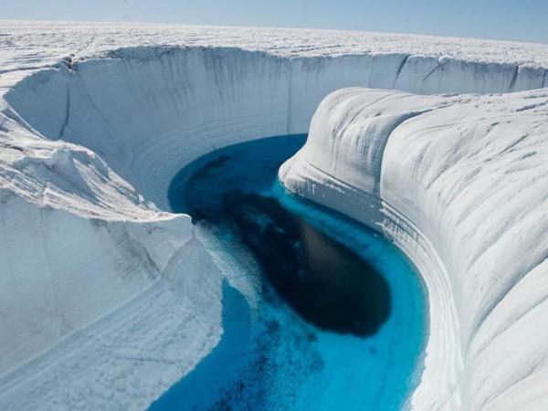 Cañon de hielo – Groenlandia