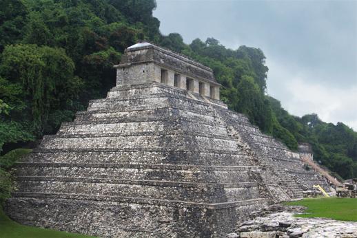 El templo de las inscripciones. Palenque