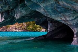 Cuevas de mármol, Chile
