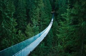 Puente suspendido de Capilano, Vancouver